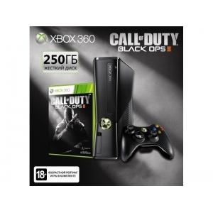 Игровая приставка Microsoft XBOX 360 Slimline + Call of Duty : Black OPS 2 (S2G-00053)