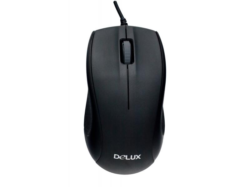 Мышь Delux DLM-375 OPB black