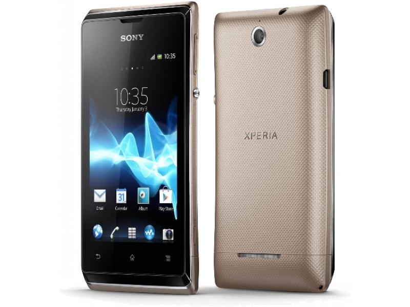 Смартфон Sony Xperia E Dual C1605 champagne gold