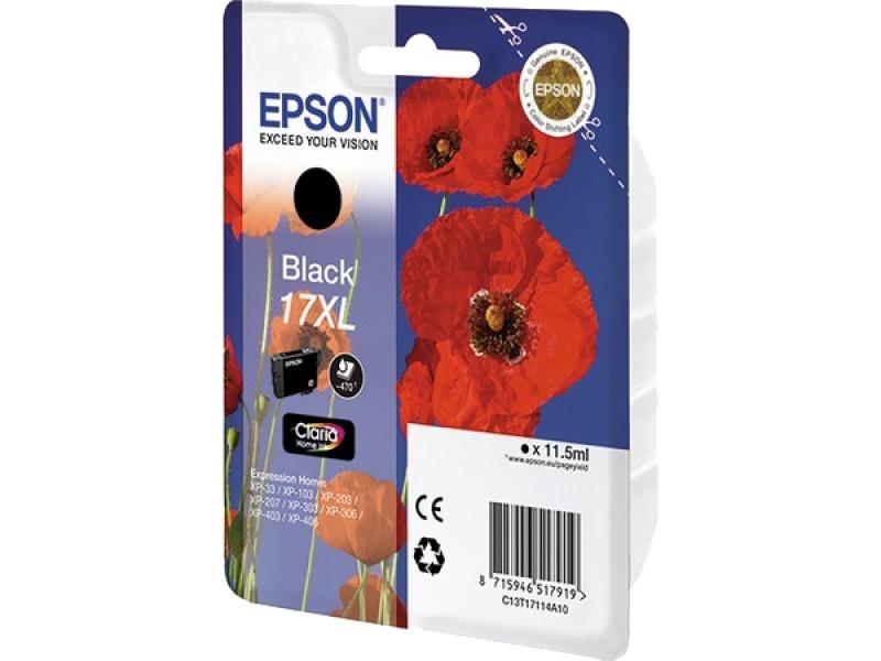 Картридж Epson C13T17114A10 Black