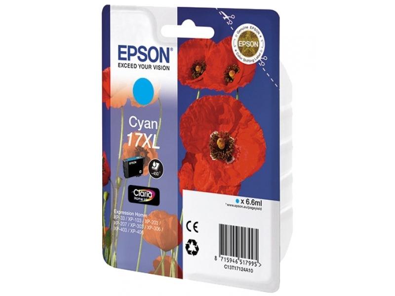 Картридж Epson C13T17124A10 Cyan