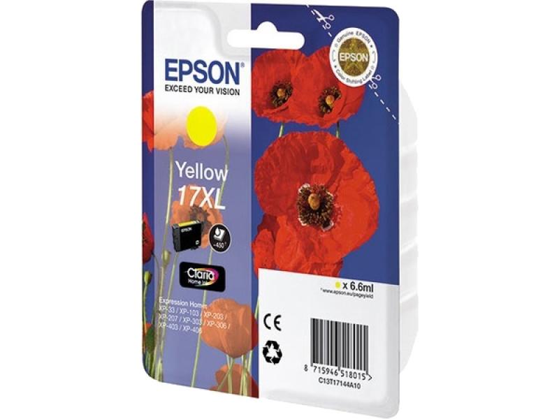 Картридж Epson C13T17144A10 Yellow