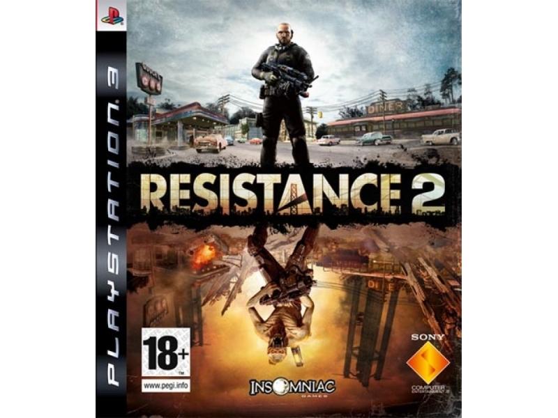 Видеоигра для консоли Resistance 2