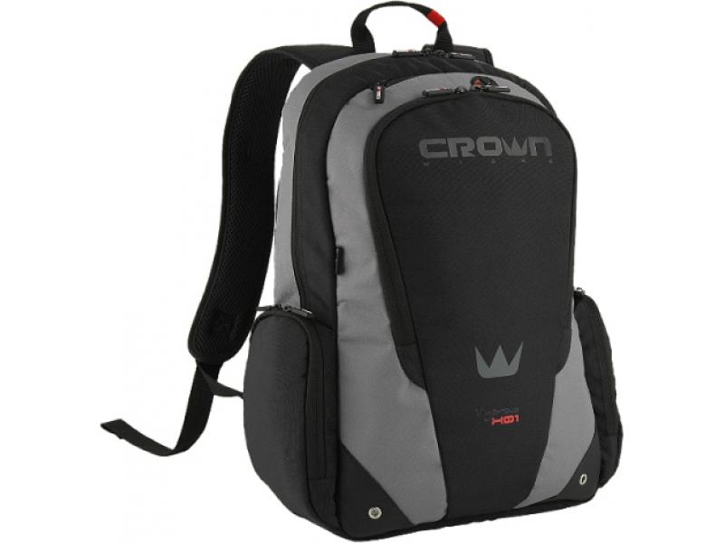 Сумка для ноутбука Crown BPV115BGY black/grey