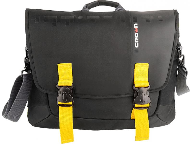 Сумка для ноутбука Crown CCH3315BY black/yellow