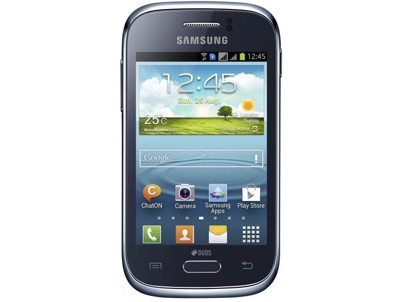 Смартфон Samsung Galaxy Young Duos GT-S6312DBASKZ
