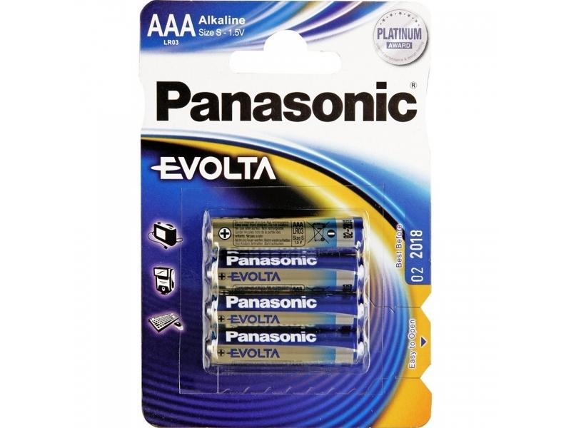 Элемент питания Panasonic EVOLTA LR03EGE/4BP