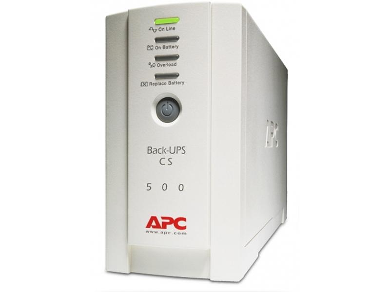 Источник бесперебойного питания APC UPS- BK500RS
