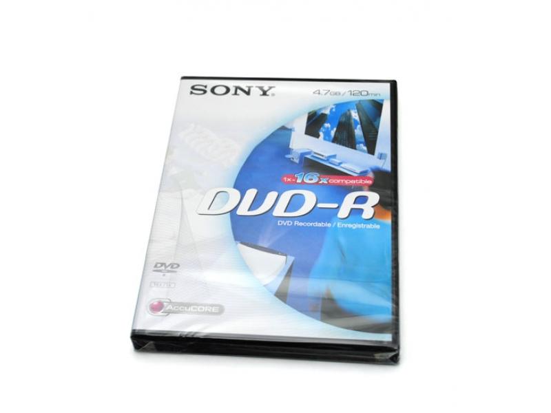 CD/DVD/BluRay диски Sony DVD-R