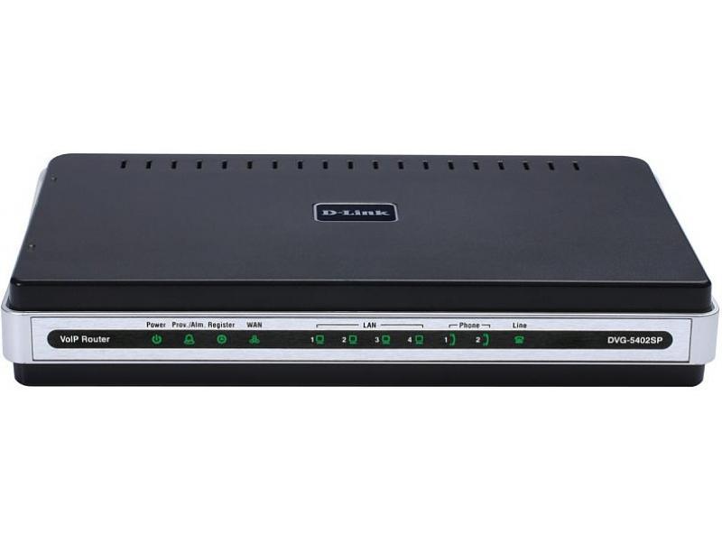 Голосовой шлюз D-Link DVG-5402SP