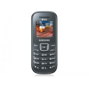 Мобильный телефон Samsung GT-E1202DAASKZ dark grey