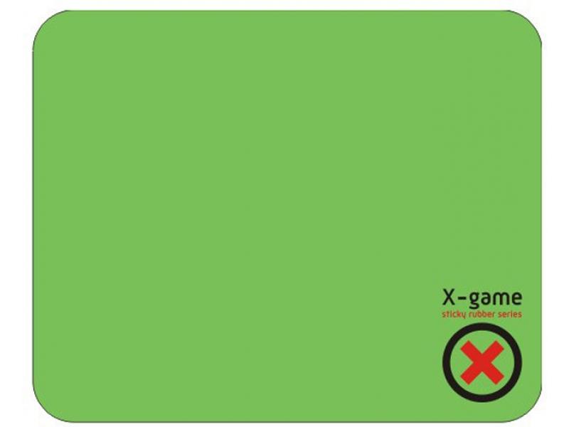 Коврик для мыши X-Game Slkrub green