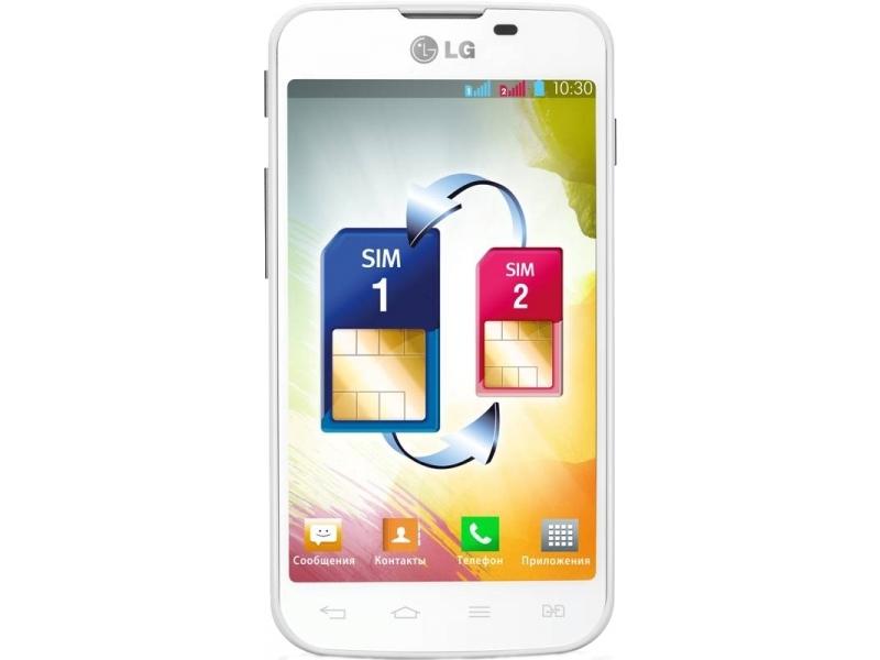 Смартфон LG Optimus L5 II Dual E455 (AKAZWH)