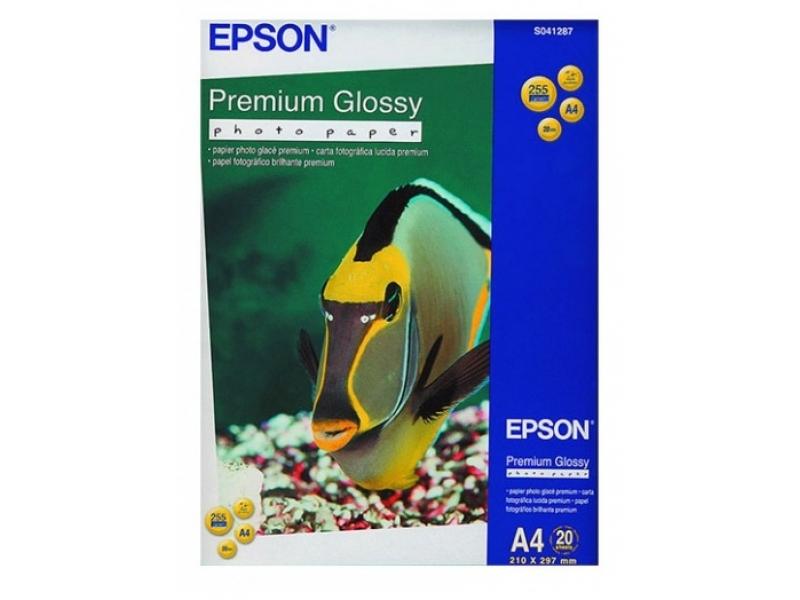 Фотобумага Epson Premium Glossy C13S041287