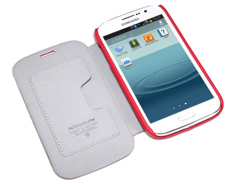 Чехол для мобильного телефона Nillkin Side Leather Case Red Samsung Galaxy Grand Duos i9082