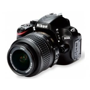 Зеркальный фотоаппарат Nikon D5100 18-55VR Black