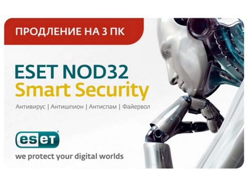 Антивирус NOD32 Smart Security NOD32-ESS-RN-1-1 Card