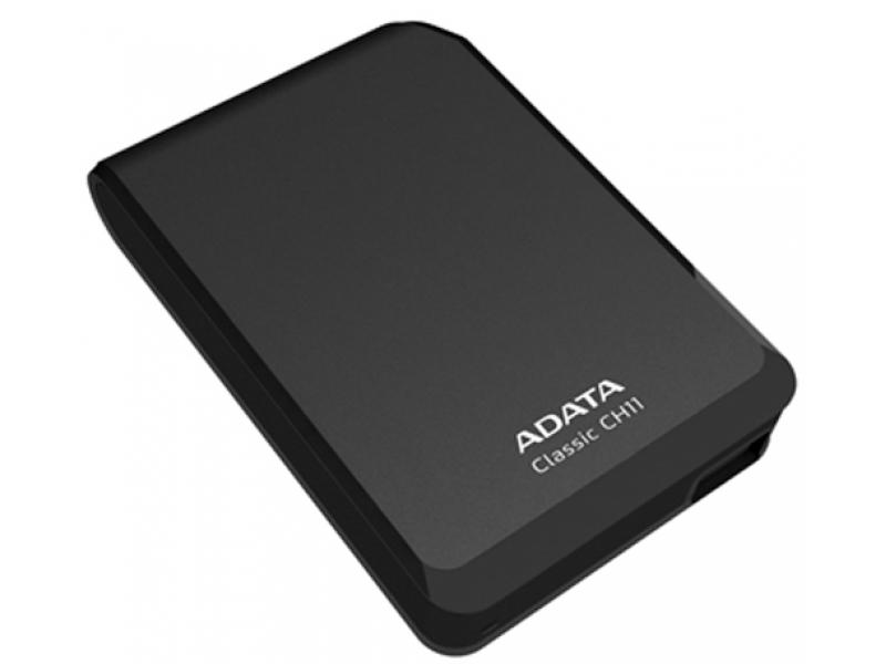 Внешний жесткий диск AData ACH11-500GU3-CBK Black