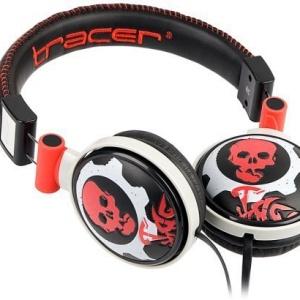 Наушники Tracer TRS-997 Skull Red (TRASLU42082)