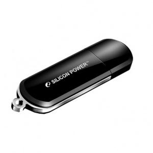 Флэшка Siliconpower Luxmini 322 SP008GBUF2322V1K Black