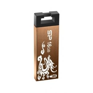 Флэшка Siliconpower SP016GBUF2836V1Z Bronze