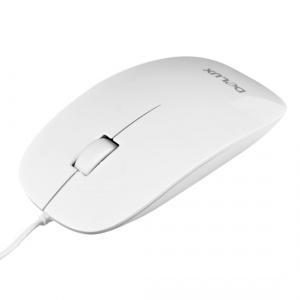 Мышь Delux DLM-111OUW 3D White