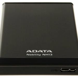 Внешний жесткий диск A-data ANH13-1TU3-CBK Black