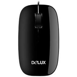 Мышь Delux DLM-110OUB Black