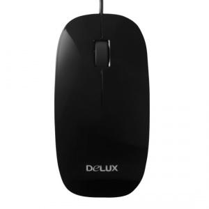 Мышь Delux DLM-111OUB Black