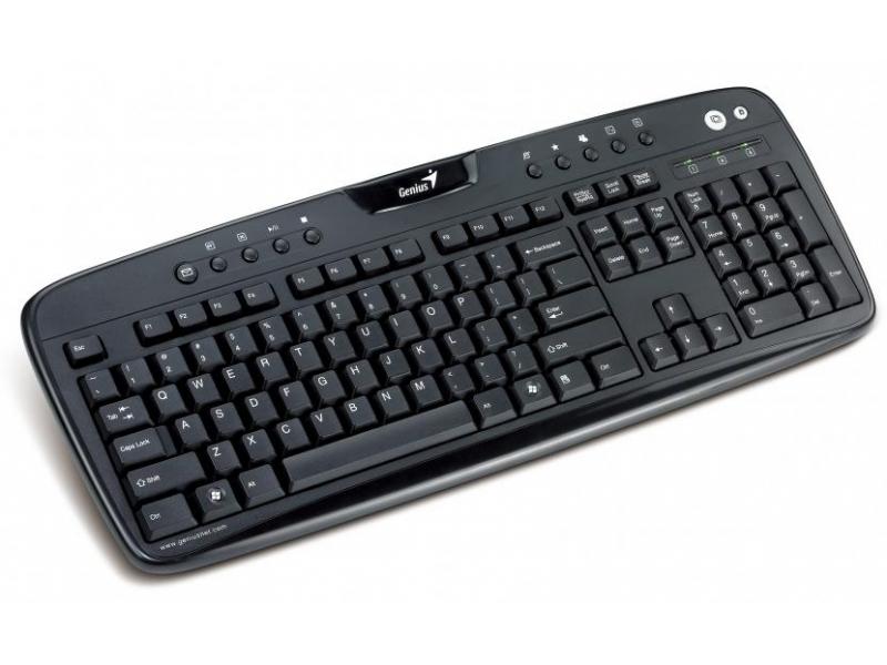 Клавиатура Genius KB-220E (31310306117) Black